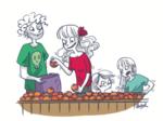famille en transition écologique